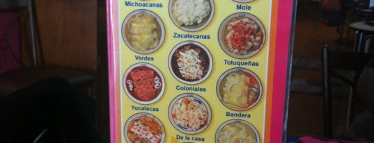 Las Enchis is one of food.