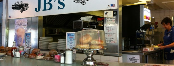 JB's Diner is one of The Best New Jersey Diners.