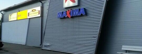 Maxima X is one of Lielveikali Latvijā.