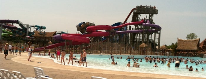 Lost Island Water Park is one of Iowa.