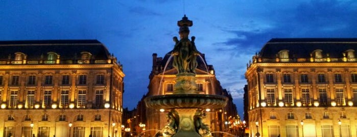 Place de la Bourse is one of Aquitaine-Basque.