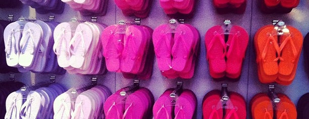 Concept Store Havaianas is one of Onde levar gringos em Sampa.