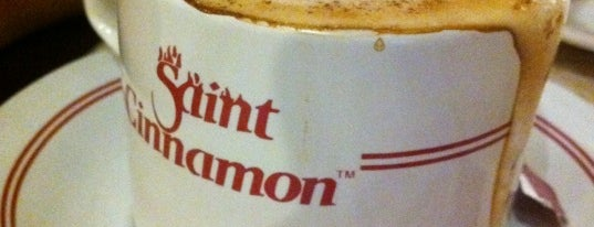 Saint Cinnamon is one of favorite-cafe&Resto.