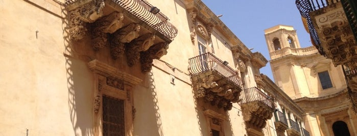 Palazzo Nicolaci is one of SICILIA - ITALY.