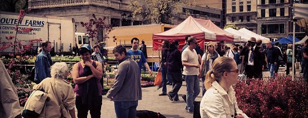 Union Square Greenmarket is one of Earth Day 2012!.