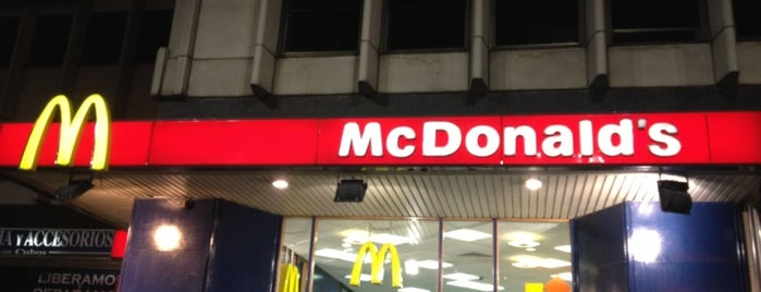 McDonald's is one of Madrid.