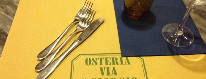 Osteria San Giorgio is one of Mangiare a Lucca C&G.