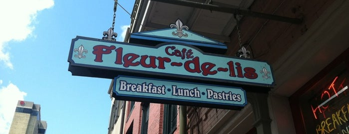 Café Fleur de Lis is one of Places on work travel.
