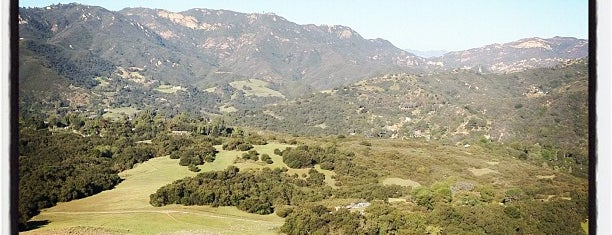 Topanga State Park is one of LA.