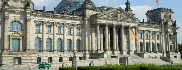 Reichstag is one of Top Locations Berlin.
