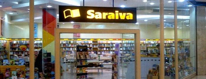 Livraria Saraiva is one of Locais curtidos por Cristina.