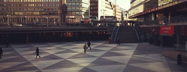 Sergels Torg is one of Stockholm City Guide.