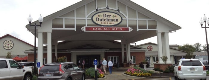 Der Dutchman Restaurant & Bakery is one of Lugares favoritos de Bruce.