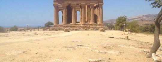 Tempio Della Concordia is one of Grand Tour de Sicilia.