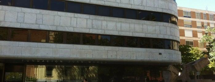 Fundación Juan March is one of Museos en Madrid.