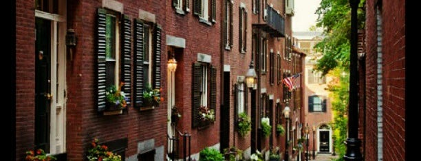 Acorn Street is one of boston.