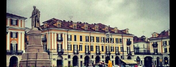 Piazza Galimberti is one of Tempat yang Disukai Ico.