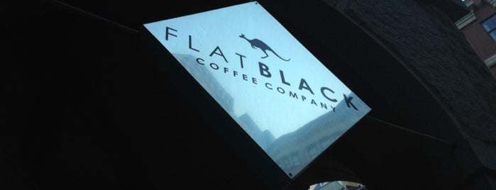 Flat Black Coffee Company is one of Boston's Best Coffee - 2012.