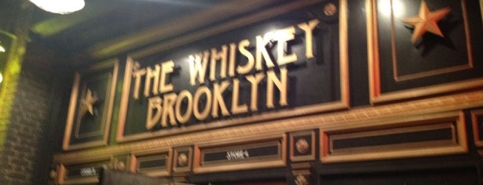 The Whiskey Brooklyn is one of NYC - Bars: Homes Away From Home.