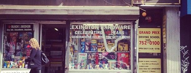 Lexington Hardware is one of บันทึกเดินทาง New York.