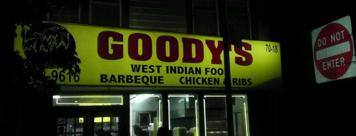Goody's is one of Lieux qui ont plu à Carmen.