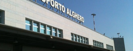 "Aeroporto di Alghero Fertilia ""Riviera del Corallo"" (AHO) is one of Locais curtidos por Ricardo."