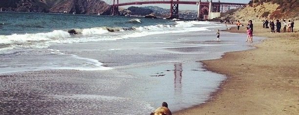 Baker Beach is one of cali.