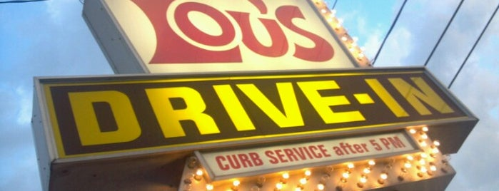 Lou's Drive-In is one of To Tip.