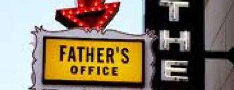 Father's Office is one of My to-dos in LA.
