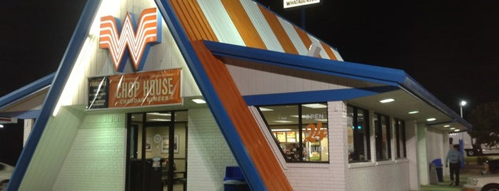 Whataburger is one of Posti salvati di Tiffany.