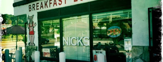 Nick's Cafe is one of Posti salvati di Christopher.