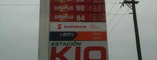 Estación KIO is one of Locais curtidos por Guillermo.