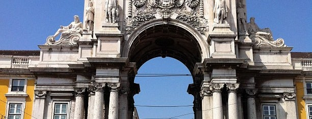Praça do Comércio (Terreiro do Paço) is one of Portugal.