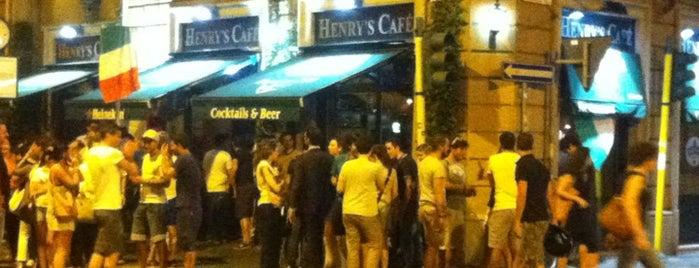 Henry's Cafè is one of Matteo : понравившиеся места.