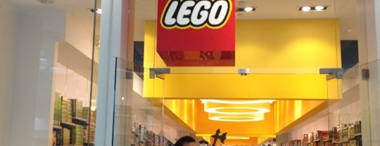 The LEGO Store is one of Places I Go....