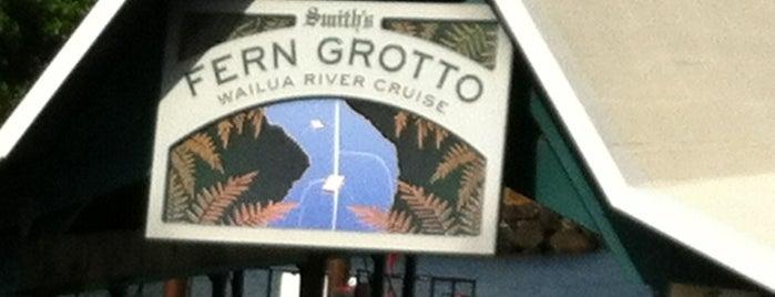 Smith's Fern Grotto Tour is one of Kauai.
