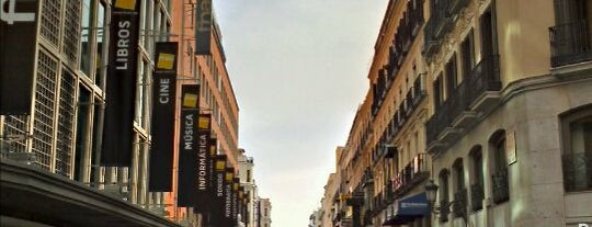 Calle Preciados is one of Madriz.