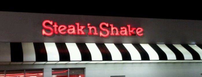 Steak 'n Shake is one of Lukas' South FL Food List!.