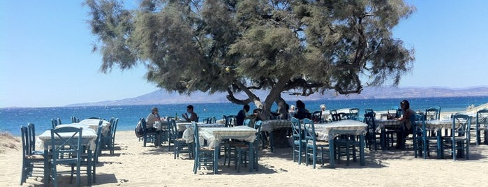 Paradiso Taverna is one of Naxos.