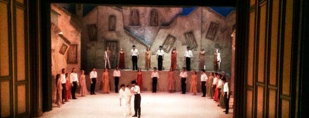 Ankara Devlet Opera ve Balesi is one of Yarışmayla Yap'ılanlar.