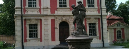 Muzeum Antonína Dvořáka | Antonin Dvorak Museum is one of StorefrontSticker #4sqCities: Prague.