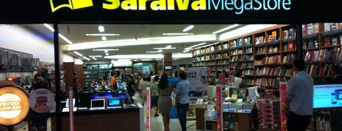 Saraiva MegaStore is one of Clau : понравившиеся места.
