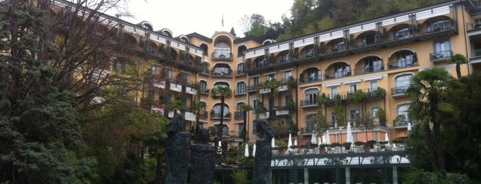Grand Hotel Villa Castagnola is one of Posti salvati di Soly.