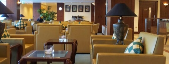 The Emirates Lounge is one of International Airports.
