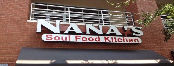 Nana's Soul Food Kitchen is one of Posti che sono piaciuti a Xue.