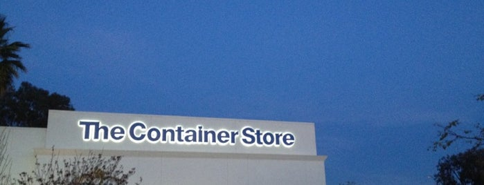 The Container Store is one of John 님이 좋아한 장소.