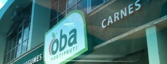 Oba Hortifruti is one of mercados, feiras e empórios em Brasília.