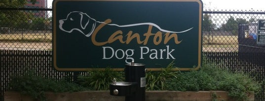 Canton Dog Park is one of The Great Baltimore Check In 2012.