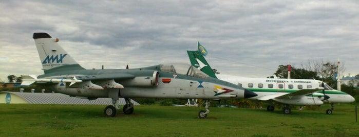 Museu Aeroespacial Brasileiro is one of Tempat yang Disukai Brunna.