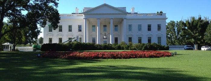 ホワイトハウス is one of Best Places DC/Metro Area Part 1.